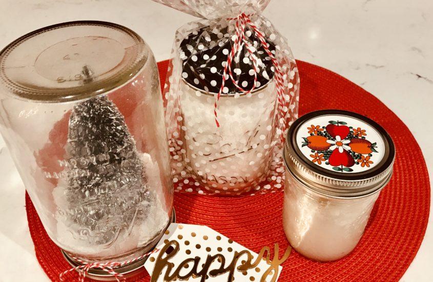 Mason Jar Hostess Gifts 3 Ways