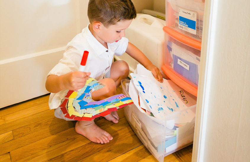 5 Back to School Organizing Projects You Can Do with Kids