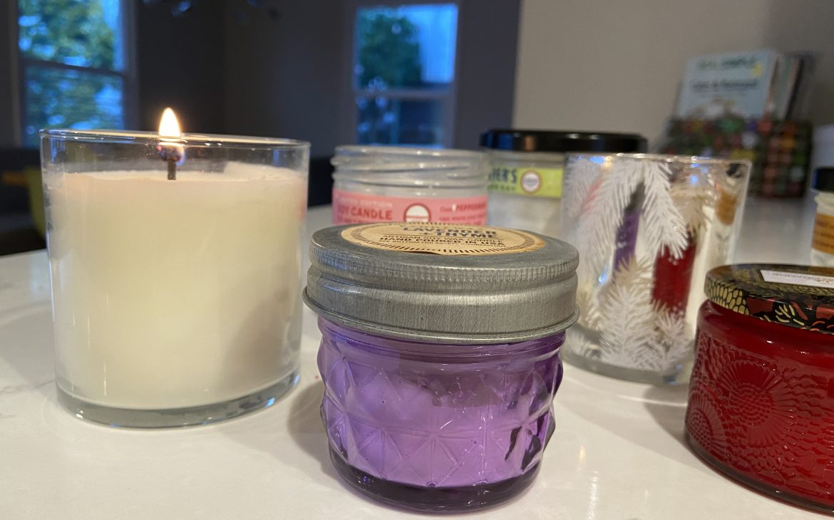 Declutter your candles