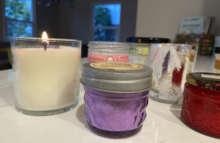 Declutter to Empower, Assignment 3: Candles