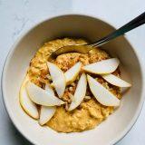 Pumpkin Pie smoothie bowl